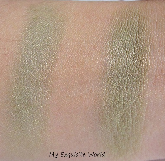 L:,dry swatch,R:wet swatch