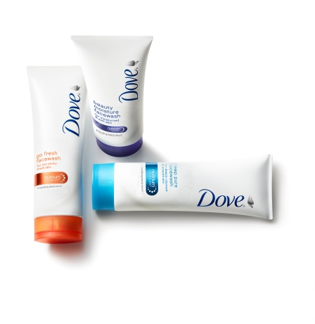New Dove Beauty Facial Cleansers group