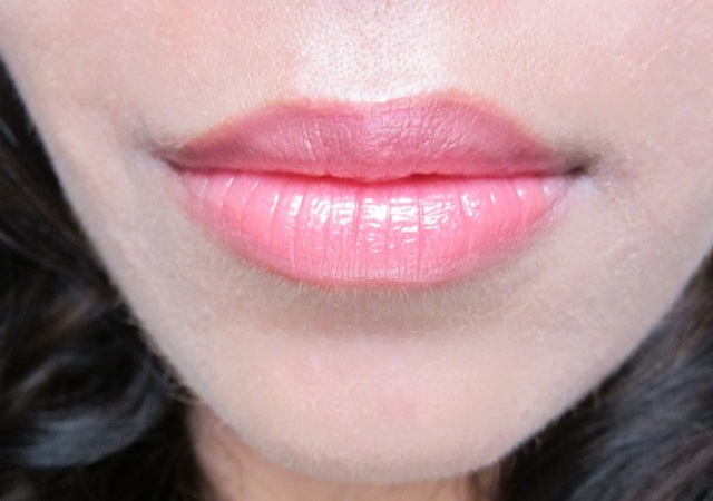 on lips