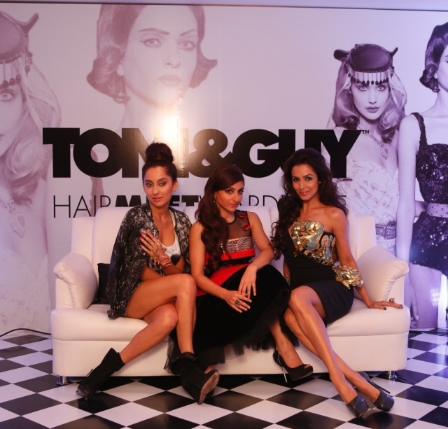 TONI&GUY Hair Meet Wardrobe's Three Timess collections - Casual, Glamour...