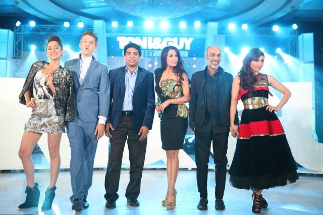 TONI&GUY HairMeetWardrobe Launch_Anusha Dandekar, Mark Hampton, Srinanda...