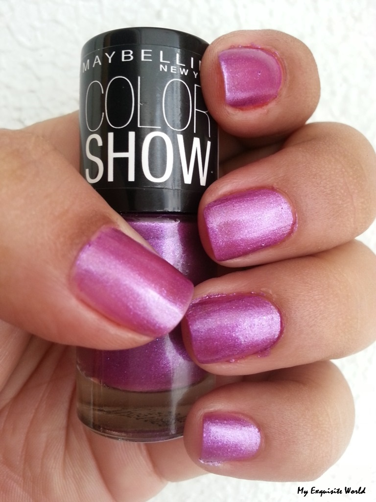 Maybelline Color Show Nail Paint- Devil Wears Purple (012