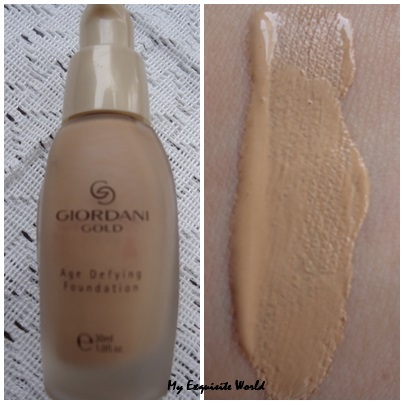 Oriflame Giordani Age Defying Foundation