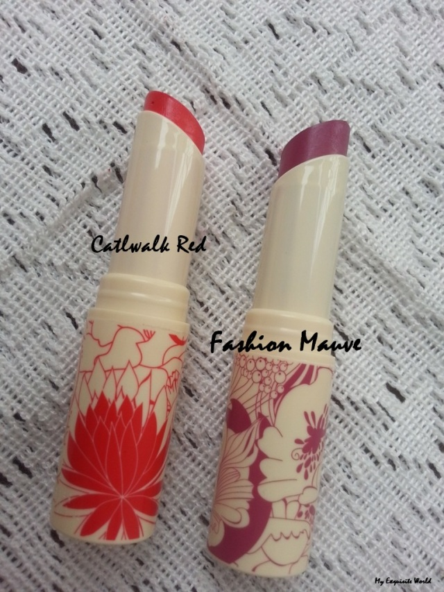Oriflame Limited Edition Lipsticks