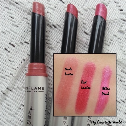 Oriflame Powershine Lipsticks