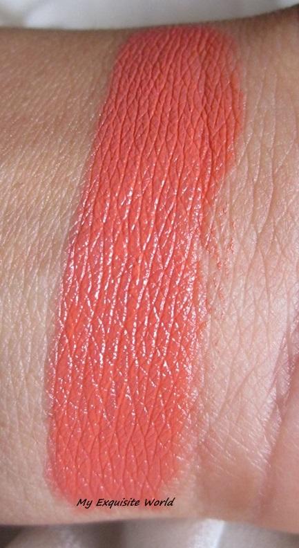 Review Mua Professional Eye Primer: MUA Lipstick Shade 16-Nectar Review & Swatches
