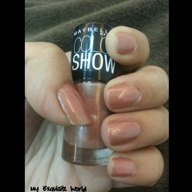 Maybelline Color Show Nail Polish Silk Stockings My Exquisite World