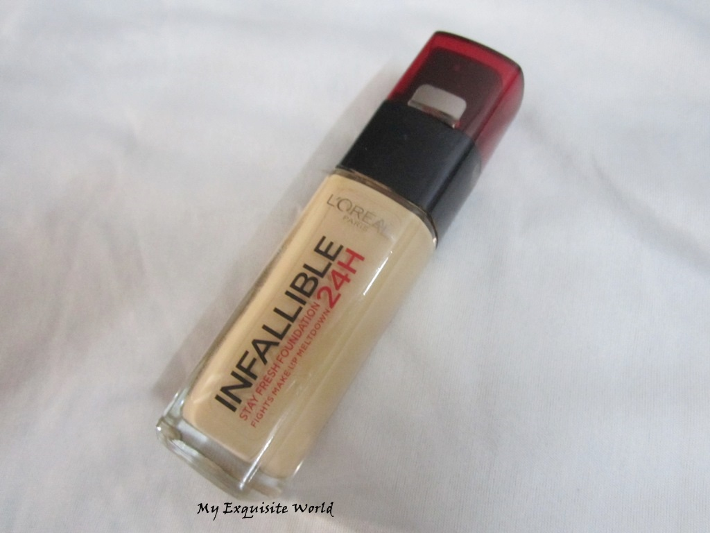 L'Oreal Infallible 24hr Foundation 125(Natural Rose)-Review & Pics ...