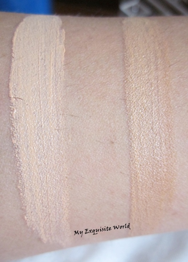 Left: Creamy Beige;Right: Pure Beige