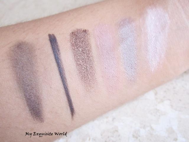 violet asphalt liner(dry)-used wet as a liner-chocolate/cashmere-sable/morning dew